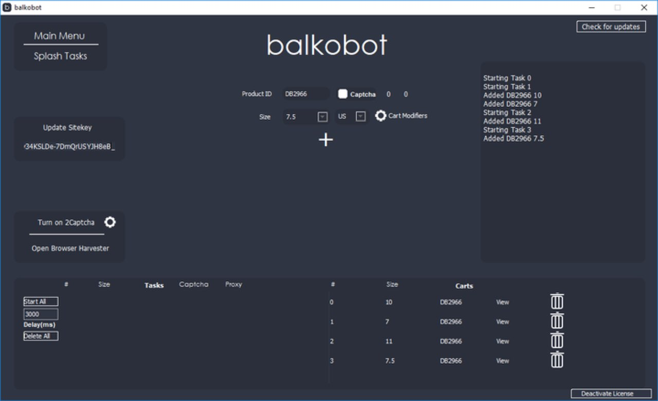 Balkobot Interface