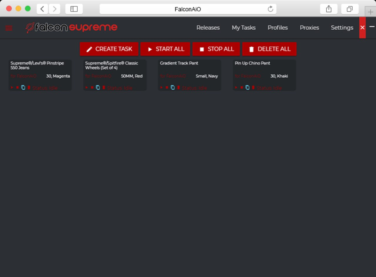 Falcon AIO Interface