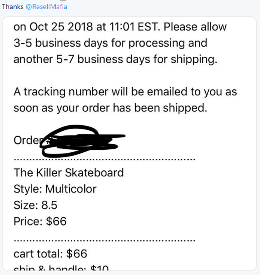 Resell Mafia Success